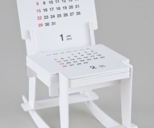 Funny Rocking Chair Sculpture Calendar 2012