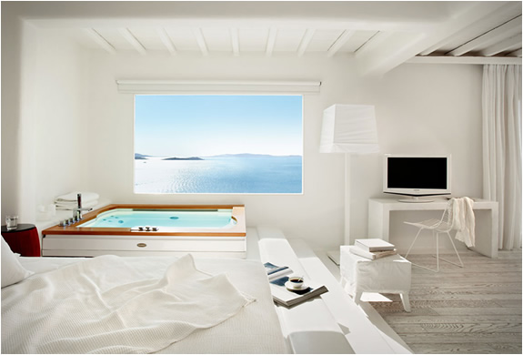 The cavo tagoo hotel in mykonos greece for Top design hotels mykonos