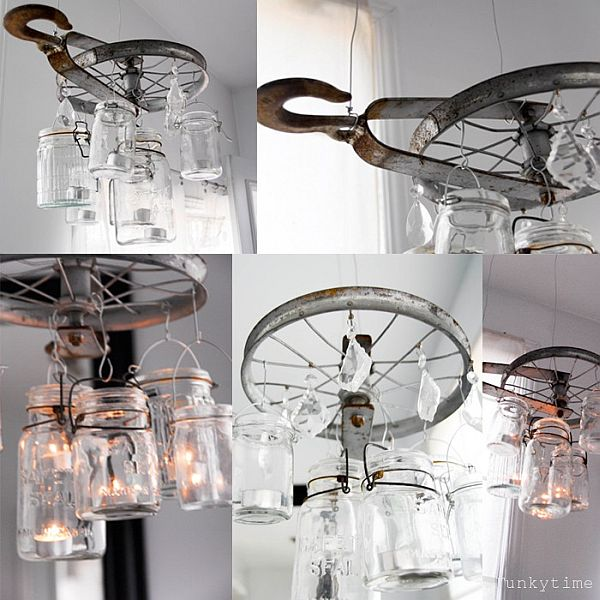 Another Cool Mason Jar Chandelier. Gallery