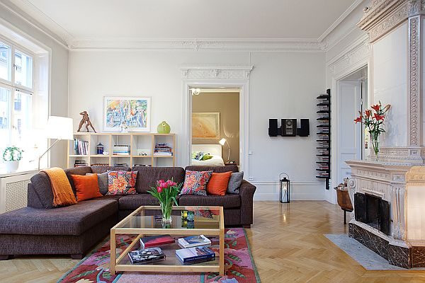 Colorful And Modern Stockholm Apartment For Sale