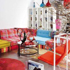 Colorful Flat Interior Design By Carmen Rivero In Madrid