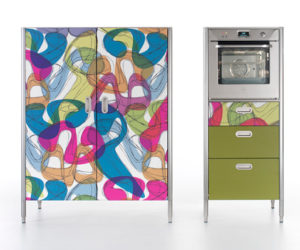 Colorful Alpes Kitchen by Karim Rashid