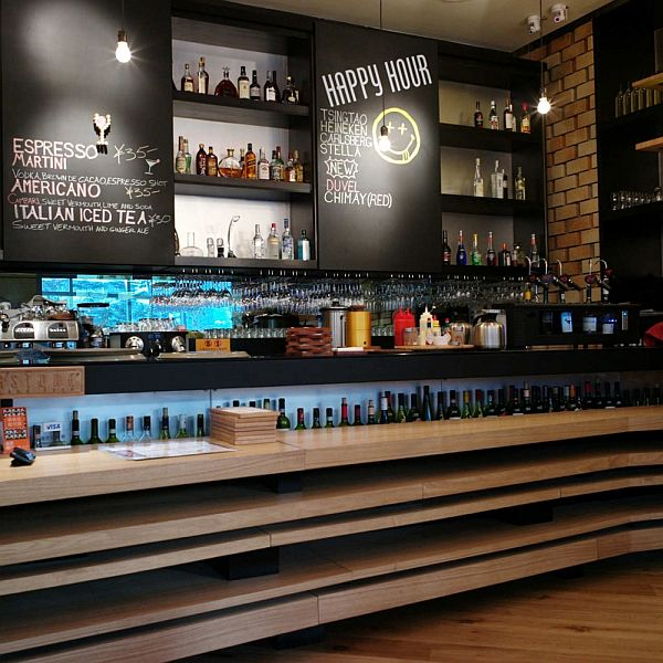 The cornerstone restaurant interior design in beijing - Bar cuisine studio ...