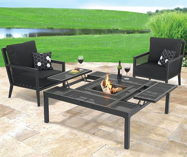Convertible Outdoor Coffee/dining Table