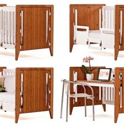 Reconfigurable Crib That You Can Use From The Day Youu0027re Born, Until The  Day You Die