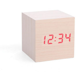 Great Silver Plated Plateau · Kikkerland Alarm Clock Cube Pictures