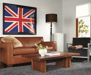 Strong classic leather sofa from Room&Board