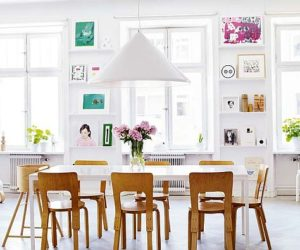 10 Fresh and casual dining room designs