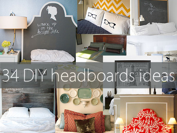 Decorative Headboards For Beds 34 diy headboard ideas