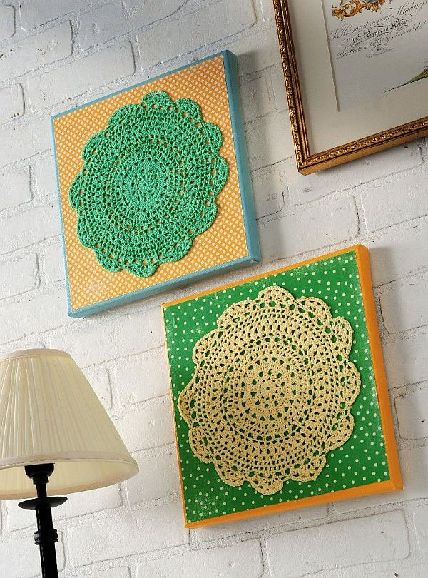 Diy Home Wall Decor Ideas Part - 28: Make Your Own DIY Wall Art.