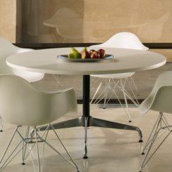 The Elegant Eames® Laminate Round Table Great Ideas