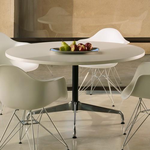 The Elegant Eames 174 Laminate Round Table