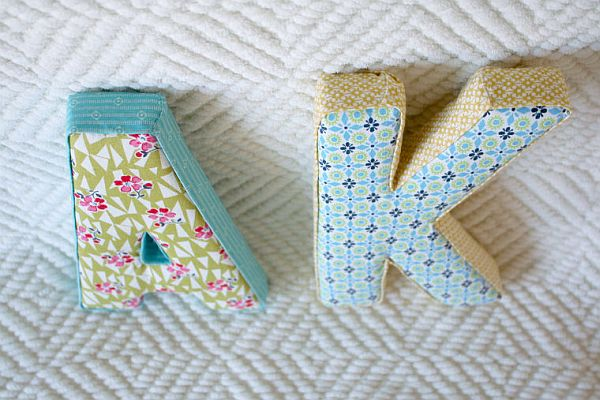 Perfect Creative Fabric Letter Accessories Amazing Pictures