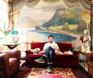 Fashion designer Alexandre Herchcovitch Sao Paulo Home