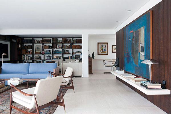Beautiful Interior Design Apartment in São Paulo by Felipe