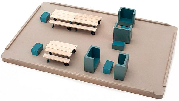 Flexible office furniture concept