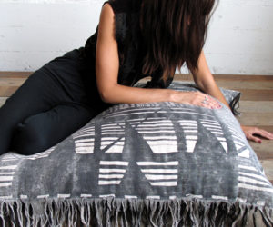 The versatile X-pattern pillow