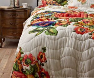 Colorful Esperanza Bedding With Ruffled Edges Good Looking