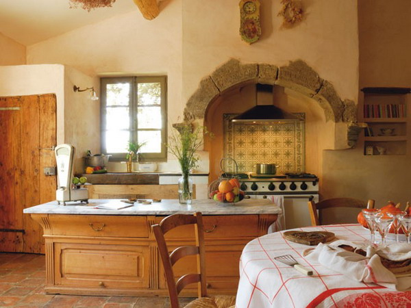 30 french country design inspiration for your kitchen for French country kitchen designs