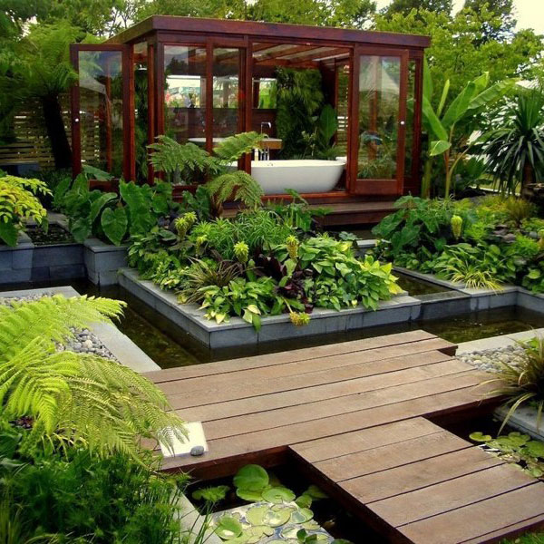 Home Garden Landscaping Ideas: Ten Inspiring Garden Design Ideas