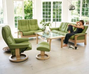 The Green Stressless Windsor Collection