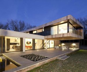 Top Class Glass House In The Netherlands · Beautiful Residence Surrounded  By Nature In The Netherlands