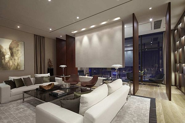 A modern penthouse which offers a modern lifestyle with luxury and  relaxation