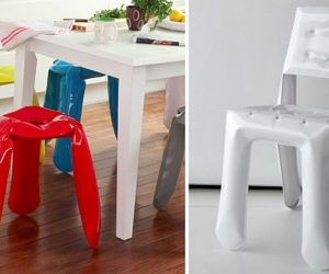 Safe And Nice Inflatable Steel Furniture By Oskar Zieta