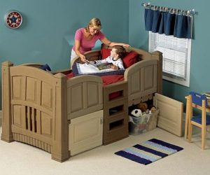 Amazing Kids Train Bed · The Friendly LifeStyle Twin Bed For Kids Good Ideas