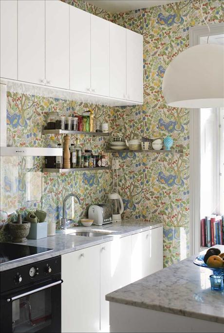 6 kitchen wallpaper ideas we love 2069