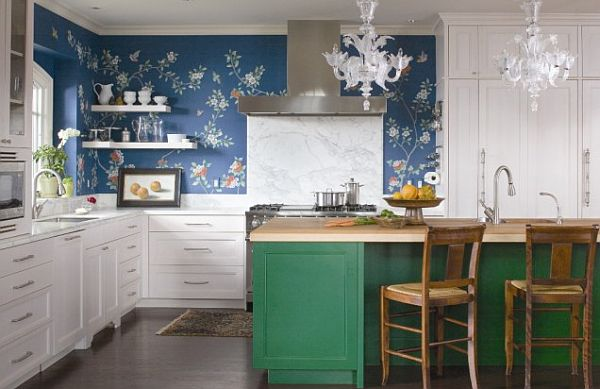 Wallpaper Designs For Kitchen Best Inspiration Design