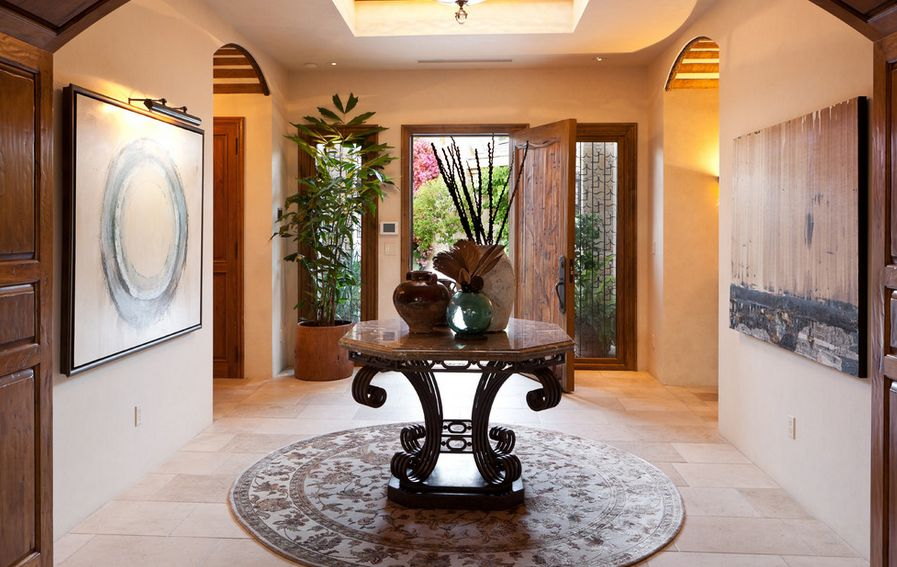 What is a foyer and how you can decorate it for Mansion foyer designs