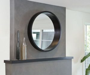 Loft 36 Round Mirror from Room&Board