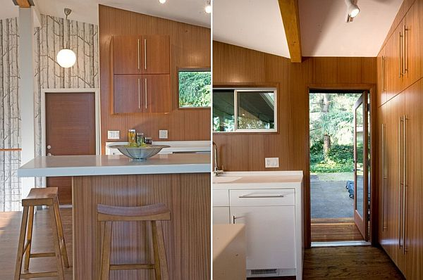 Stylish Mid Century Kitchen Makeover