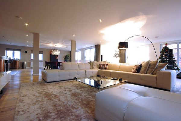 Sleek And Contemporary Manchester Penthouse
