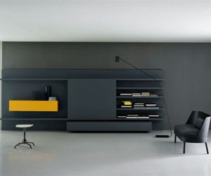 Attrayant The Modular Modern Wall Unit By Piero Lessoni
