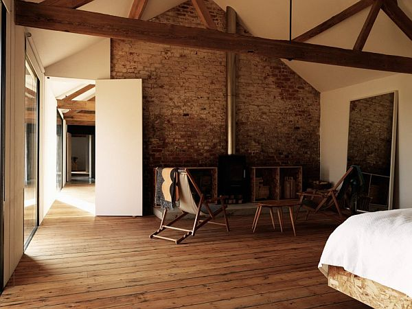 11 amazing old barns turned into beautiful homes for Brique interieur deco