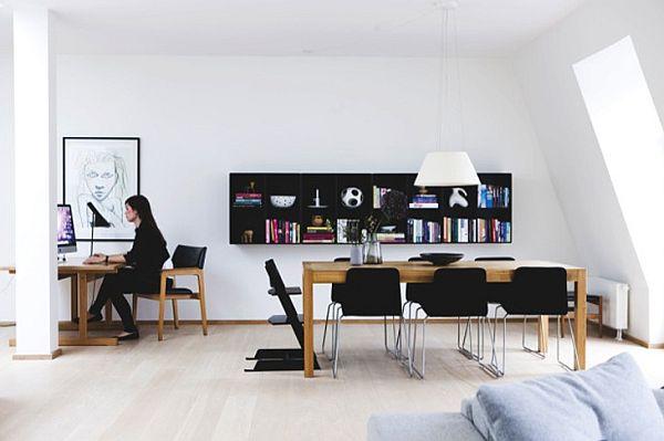 Attractive Small But Bright Scandinavian Apartment