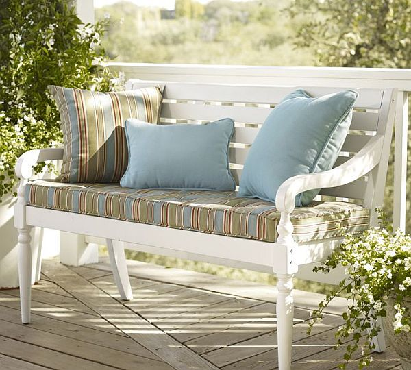 garden diy ideas porch large target of front bench size plans small