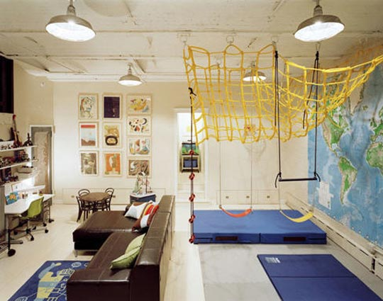 10 More amazing playroom design ideas