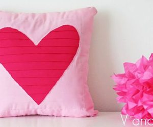 Show Your Love With A Heart Pillow – 7 DIY Projects