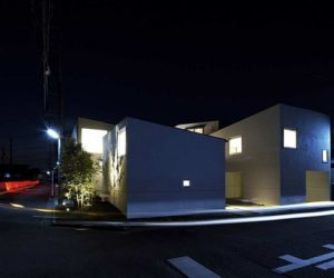 Modern and white Japanese house