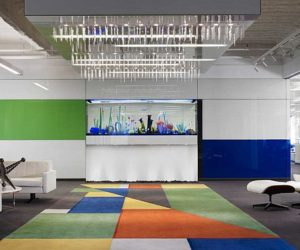 Colorful Rock Executive Suite Synopsis Office by Rossetti