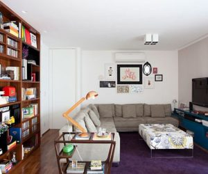 Colorful 170 square meters apartment in Sao Paulo