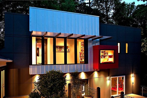 Eye catching modern house located in charlottenorth carolina