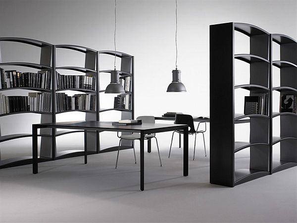 The Modern Chiave Di Volta Sectional Bookcase