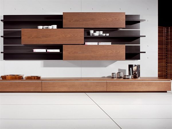 Wall Units For Storage the sectional wooden storage tosai wall unit