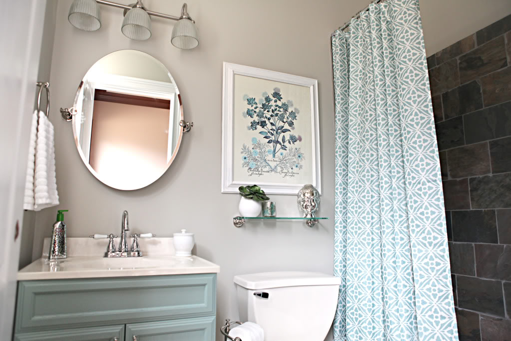 Before And After Small Bathroom Makeovers Big On Style - Simple bathroom makeovers