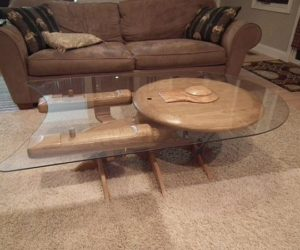 A Star Trek coffee table for fans