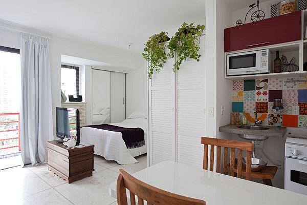 Minimal Decor: Tiny but cozy apartment in Moema
